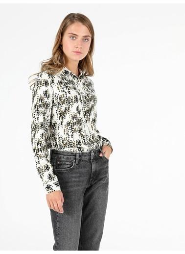 Colin's Kadın Gömlek U.Kol Renkli